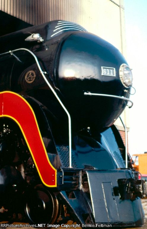 Norfolk and Western 611 Class J Steam Locomotive. They are doing a study to bring this engine back to life.