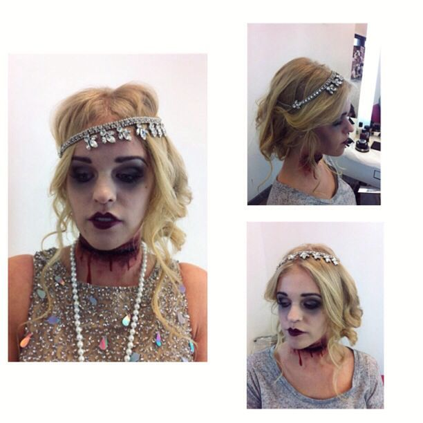 Dead 1920 S Flapper Gal Great Gatsby Halloween
