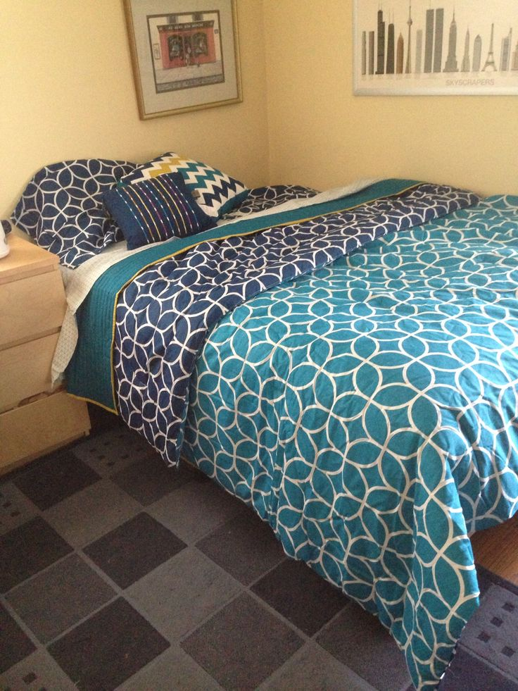 Kohls Bed Set Teal Aqua Navy Love This Trying To Get It For My