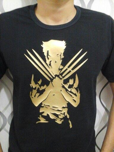 Camiseta Wolverine Filme De Recorte Wolverine T Shirt
