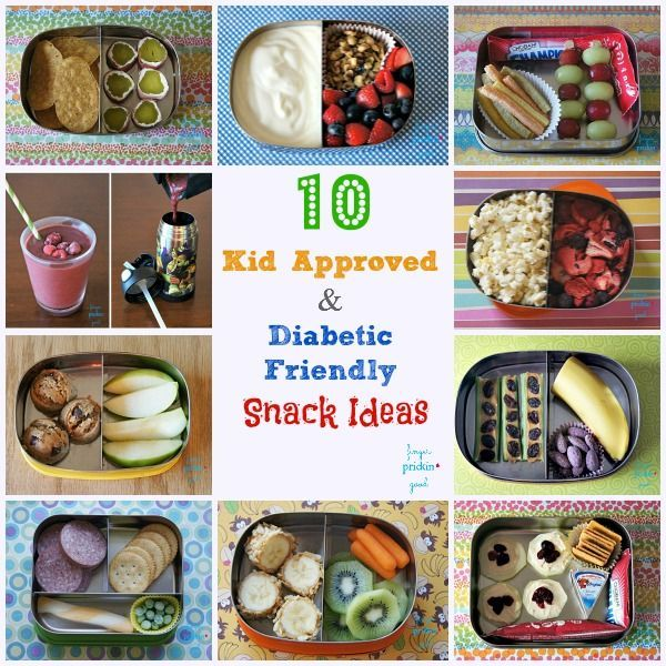 10 Kid Approved and Diabetic Friendly Snack Ideas #kids #healthykids