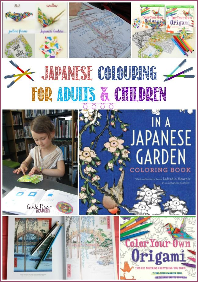 Japanese Colouring For Adults And Kids