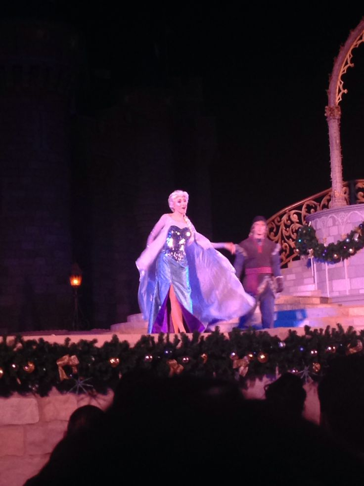 Elsa ❄️❄️ #waltdisneyworld