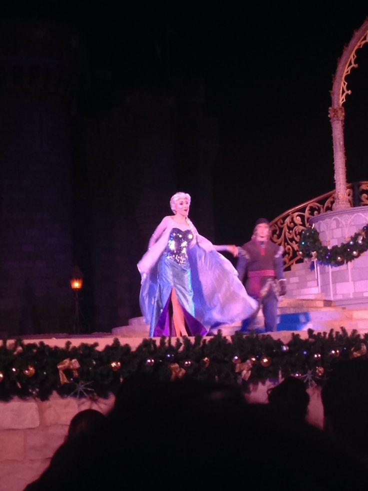 Elsa ❄️❄️ #waltdisneyworld