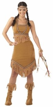 teen native princess costume #thaanksgiving