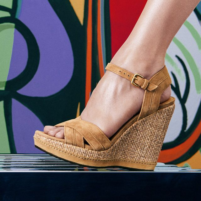Wedges lovers  #summer #trend #sandals #wedges #stuart #weitzman #stuartweitzman #sales