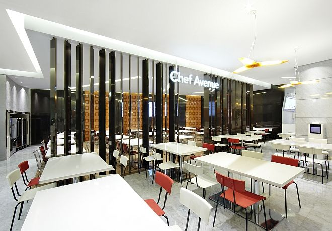 Hyundai department store ulsan s korea in store dining for Design hotel xym ulsan