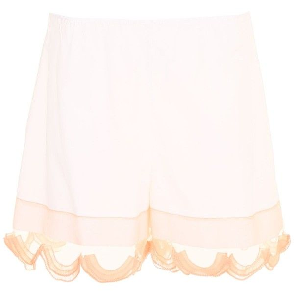 Compact Poplin and Cigaline Shorts (633,145 KRW) ❤ liked on Polyvore featuring shorts, elastic waistband shorts, elastic waist shorts, stretch waist shorts, prada and poplin shorts