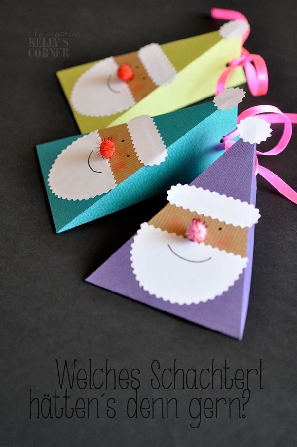 DIY gift boxes | geschenkschachteln (in German)