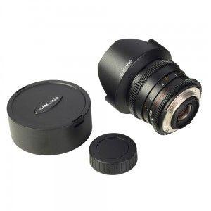 Pentru videografi Samyang T3.1 14mm ED AS IF UMC a fost dezvoltat pe baza constructiei optice ale lui Samyang 14 mm f2.8 IF ED UMC Aspherical