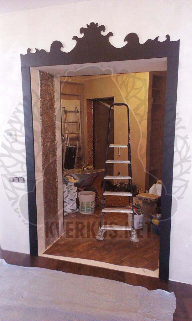 Кверкус - изготовим на заказ деревянные порталы и арки. Наша компания производит дверные и межкомнатные арки, каминные порталы по индивидуальному заказу