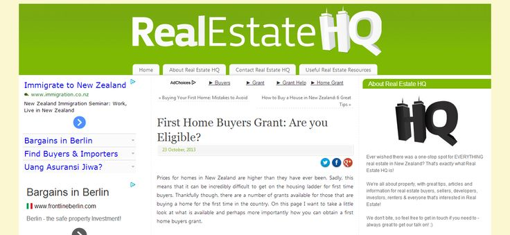 Prices for homes in New Zealand are higher than they have ever been. Sadly, this means that it can be incredibly difficult to get on the housing ladder for first time buyers..--> http://www.realestatehq.co.nz/first-home-buyers-grant-eligible/