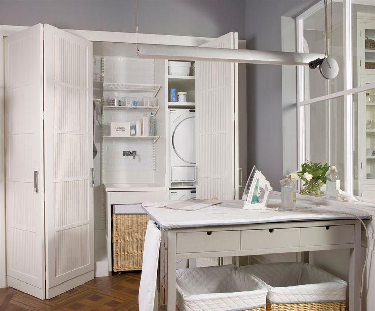 8 best planchadores y zonas de lavado images on pinterest - Puertas de acordeon ...