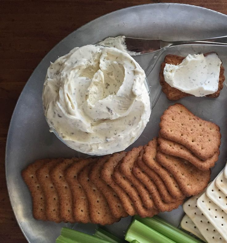 herbed cheese spread cold appetizers cheese spread popular crackers it ...