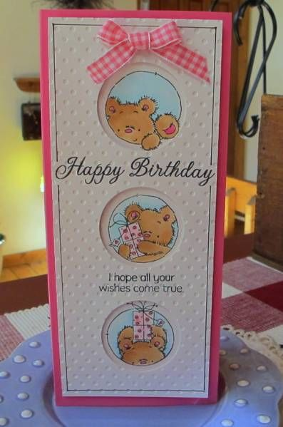 Teddy Trio by Susie B - Cards and Paper Crafts at Splitcoaststampers