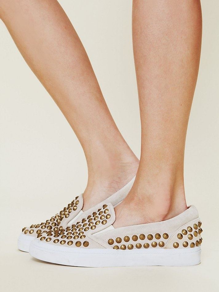 Studded sneaker at Free People