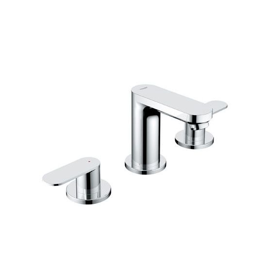 Picture Gallery For Website Grohe Starlight Chrome Eurosmart Cosmopolitan Widespread Bathroom Faucet with SilkMove Technology