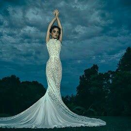 Stunning full lace gown aleksbridal.com.au