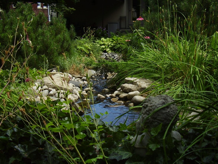 Backyard Nature Preserve :  Stone Waterfalls on Pinterest  Gardens, Preserve and Landscaping