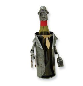 Goldia Metal Doctor Wine Caddy