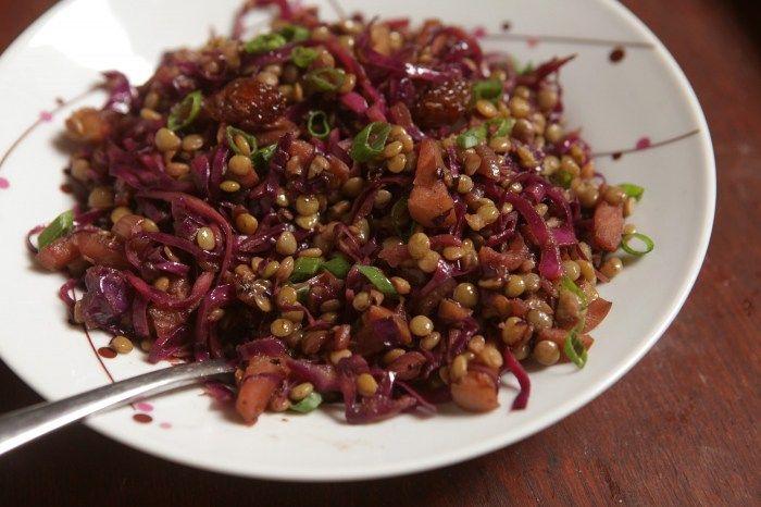 salada agridoce de lentilha, repolho e maçã2