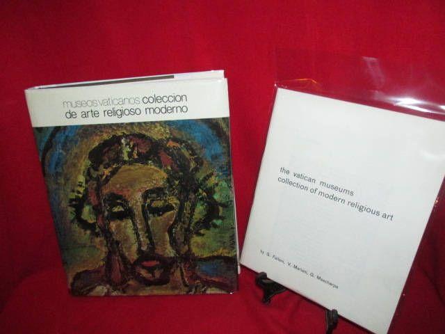 "Italian Language Art Book ""Musei Vaticani Collzione D'arte Religiosa Moderna"" (Vatican Museums Modern Religious Art) by TheBookE on Etsy"