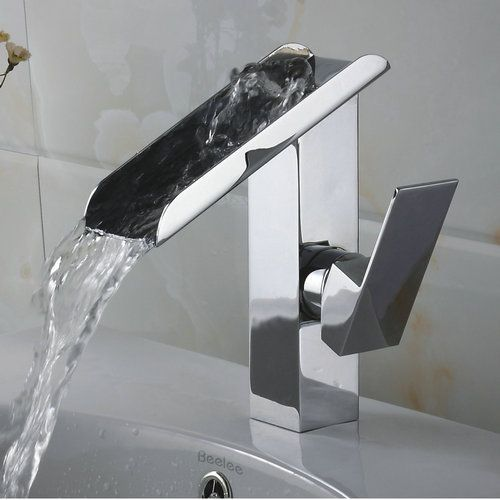 Mitigeur cascade contemporain de bains en laiton massif évier robinet chromé RQ3028 http://www.robinetshop.com/mitigeur-cascade-contemporain-de-bains-en-laiton-massif-%C3%A9vier-robinet-chrom%C3%A9-rq3028-p-663.html