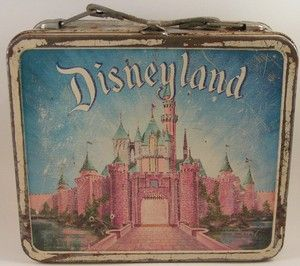 Vintage Metal Lunch Boxes | Vintage Disneyland 1960s Tin Litho Aladdin Metal Lunch Box | eBay