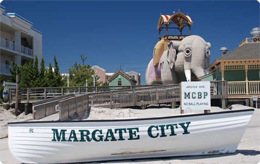 Miss....Margate City, NJ- Our old stomping grounds!