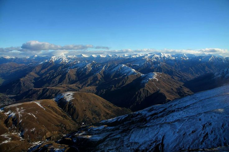 Helicopter trip up to the snowy Mountains #mountains #nature #snow #pretty #landscape #queenstown #newzealand #nz #beautiful #helicopter