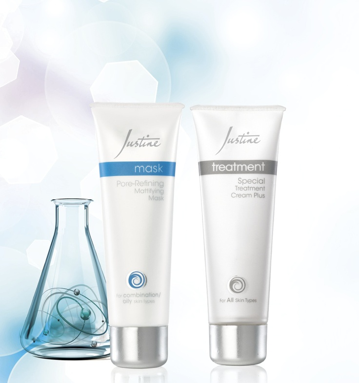 Pore-Refining Mattifying Mask 50 ml Code 4729 Special Treatment Cream Plus 50 ml Code 4603 For More Information - http://www.justine.co.za