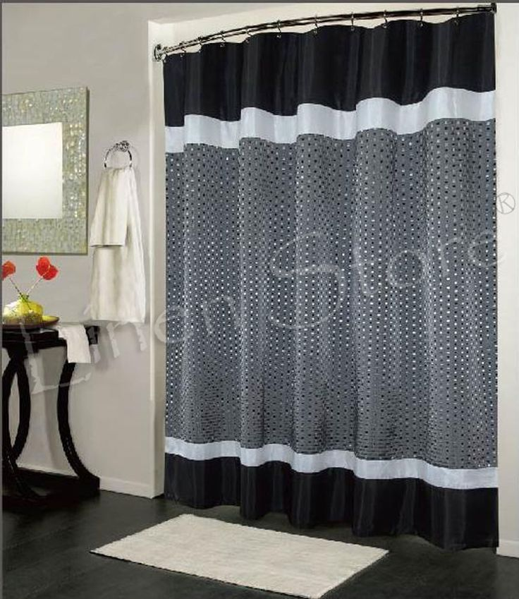 Dark Purple And Gray Shower Curtain Best 25  shower curtains ideas on Pinterest Spa like living