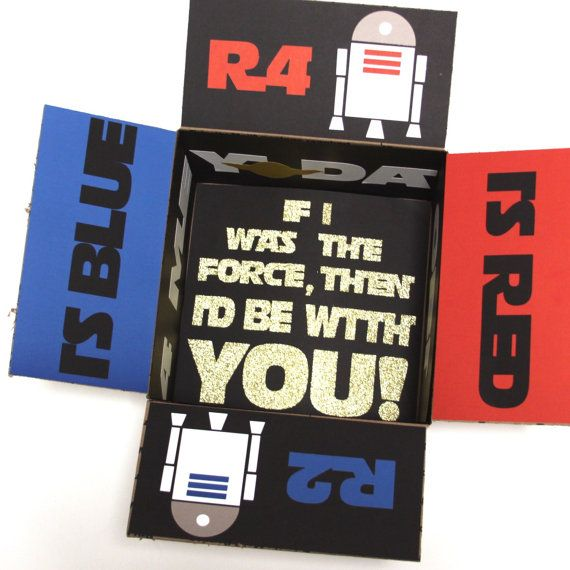 Star Wars Care Package Flaps Full Set by MilesApartForNow on Etsy
