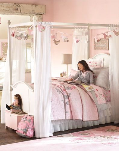 Colorful Kids Bedroom Design Collections By Pottery Barn Kids: Pottery Barn Kids  Bedroom Design Madeline Collection