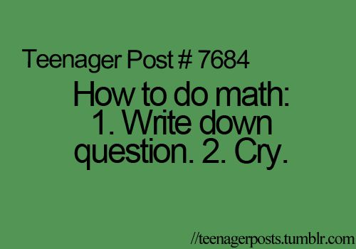 Exactly how I got through algebra 2
