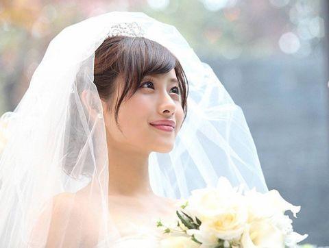 どう見たって可愛い♡『失恋ショコラティエ』石原さとみの花嫁姿に近づく為のテクニックまとめ*にて紹介している画像