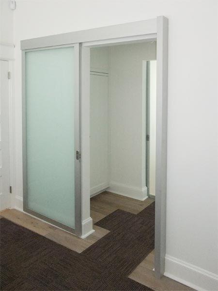 Wall Slide Doors   (note: consider for door from bedroom to master bath/closet)