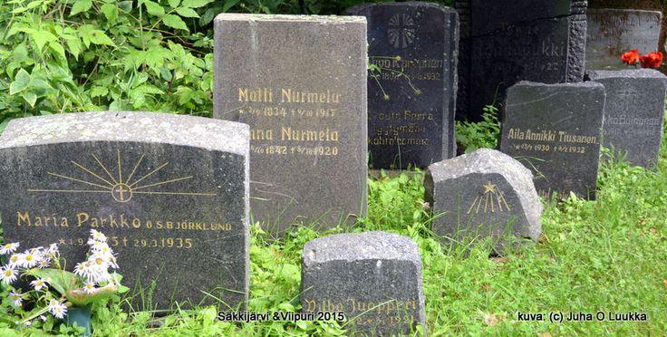 Matti ja Anna Nurmelan hautakivi Säkkijärvellä. Säkkijärvi 2015 | by julukustavisuomi