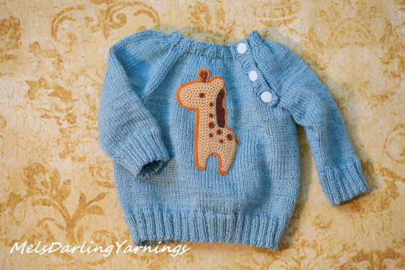 0  3 Month Newborn Baby Boy Knitted Sweater by MelsDarlingYarnings, $50.00