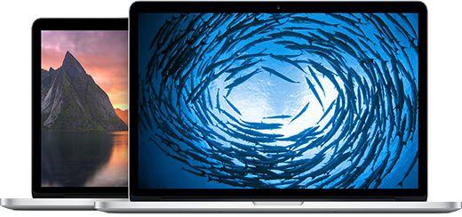 "MacBook Pro - 15"" & 13"" MacBook Pro Retina - Apple Store (Australia)"