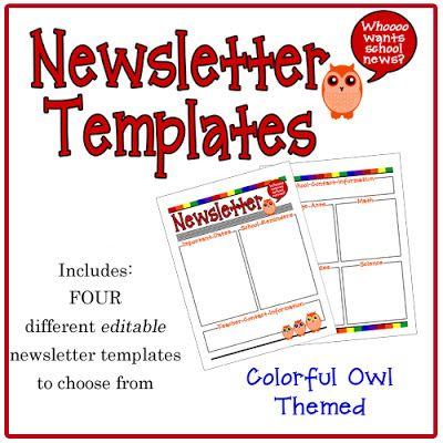 school newsletter templates vatoz atozdevelopment co