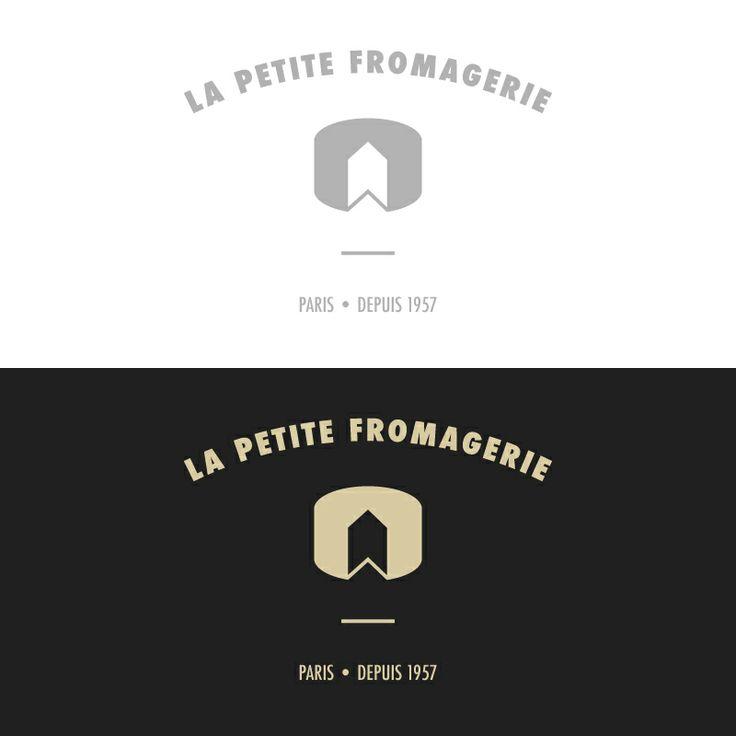 Création de logo -LA PETITE FROMAGERIE, Paris. #graphisme #logo
