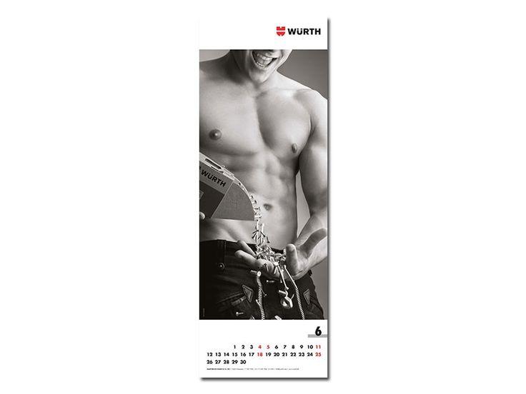 Würth Männerkalender 2017