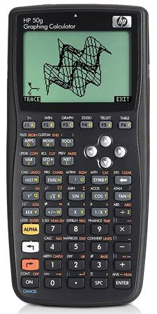 4. HP 50g Graphing Calculator.