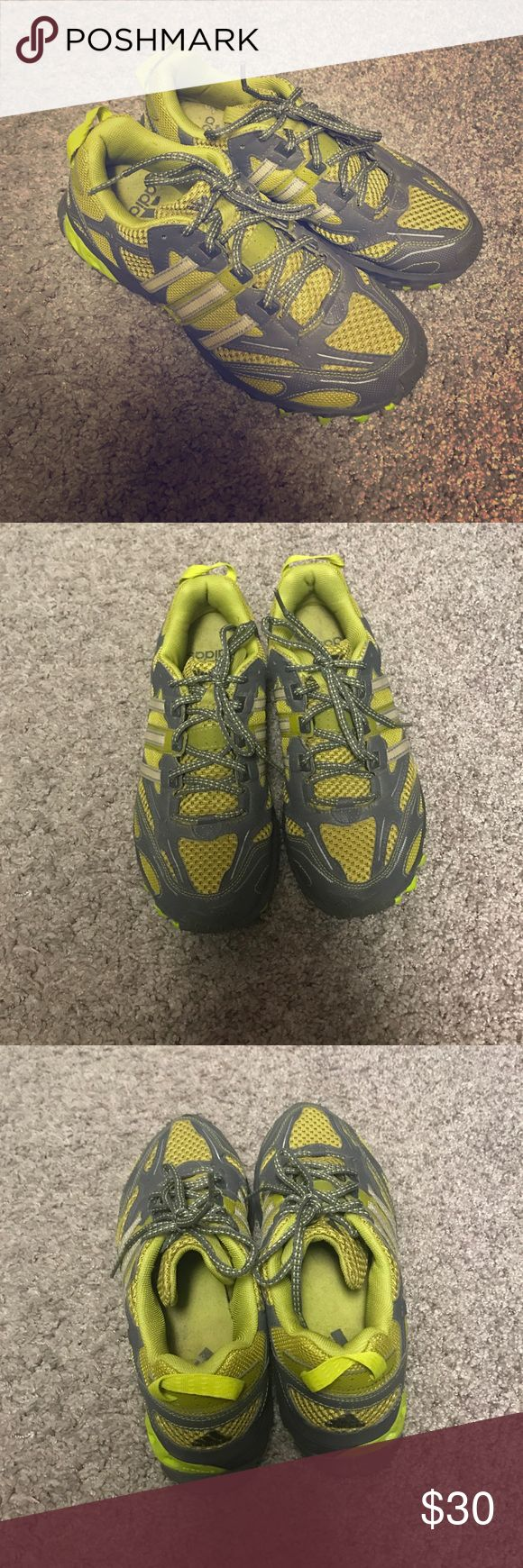 Adidas Trail Running Shoes Adidas Trail Running Shoes. Great for gripping the trail. Gently used. Adidas Shoes Athletic Shoes