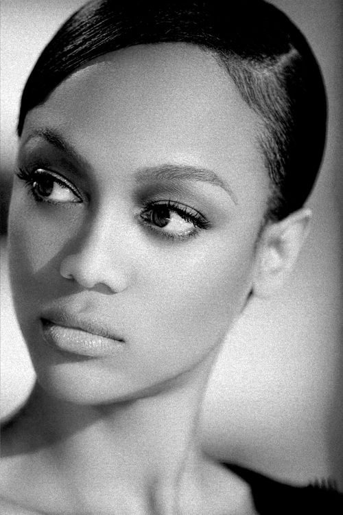Tyra Banks - one of the cooler people in the modeling industry. She's always so supportive.