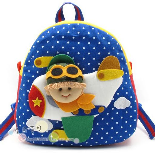 Детские рюкзачки - идеи для вдохновения