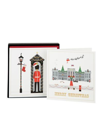Eleanor Stuart Buckingham Palace and Guard Christmas Cards (Box of 8) available at harrods.com. Shop online & earn reward points.