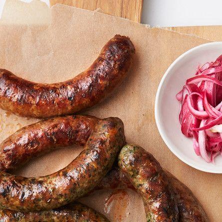 Lamb Masala Sausage Recipe