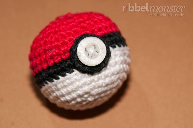 Amigurumi Anleitung – Pokéball häkeln – Pokémon ball – #Amigurumi #Anleitung …